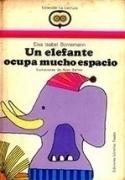 Un elefante ocupa mucho espacio