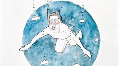 """""""El nadador"""" (La edad del pavo)"""